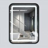 Зеркало LED VLM-2D600B  590x840 c сенсорным выключателем и диммером