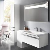 Комлект мебели IdealStandard Tonic 2 100 см Продается с экспозиции. В комплект входит: тумба с раковиной и зеркало с подсветкой.
