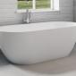 Овальная ванна из искусственного камня Riho Bilbao 150x75 белая BS1200500000000 19