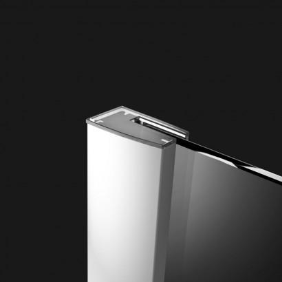 Распашная створка для душевой двери в нишу Radaway Essenza New DWJS 130 левая , профиль хром , стекло прозрачное 5