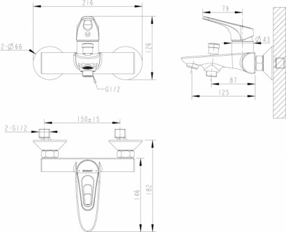 Промонабор Bravat Drop-D 3 в 1 2