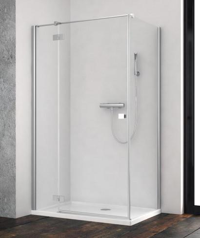 Душевая дверь  для душевого уголка Radaway Essenza New KDJ 100 левая , профиль хром , стекло прозрачное