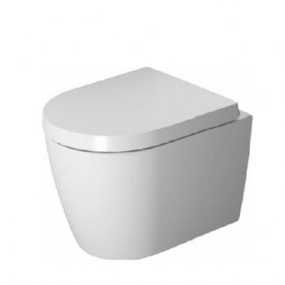 Duravit ME by Starck Комплект: унитаз подвесной Compact Rimless, 370x480 мм 253009 + сиденье с микролифтом: 002019 цвет: белый
