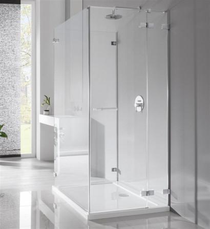 Душевая дверь Radaway Euphoria KDJ 100 левая ,  фурнитура хром , стекло прозрачное