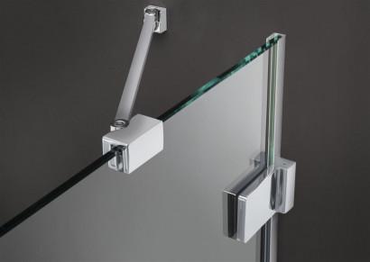 Боковая стенка для душевого уголка Radaway Euphoria KDJ S1 100x200 профиль хром, стекло прозрачное 3