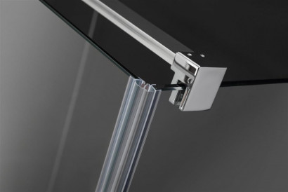 Боковая стенка для душевого уголка Radaway Euphoria KDJ S1 100x200 профиль хром, стекло прозрачное 4
