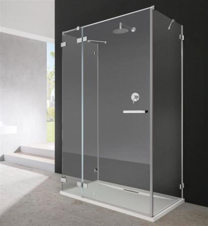 Боковая стенка для душевого уголка Radaway Euphoria KDJ P S2 100x200 профиль хром, стекло прозрачное