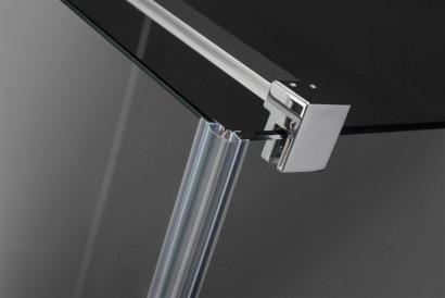 Боковая стенка для душевого уголка Radaway Euphoria KDJ P S2 100x200 профиль хром, стекло прозрачное 4