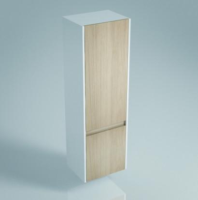 Пенал BUONGIORNO 120 см, 2 двери, дуб
