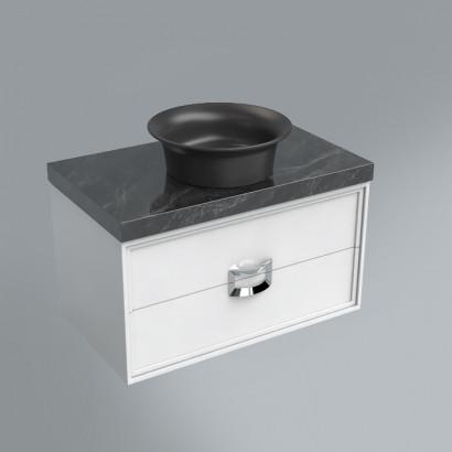 столешница из плитки 80х48 риальто серый темный лаппатированный 2