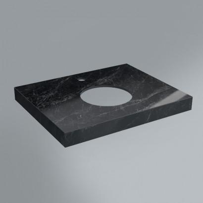 столешница из плитки 60х48 риальто серый темный лаппатированный