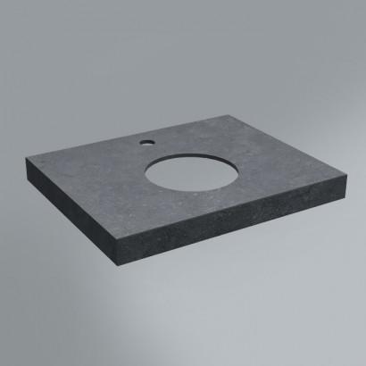 Спец. Изделие декоративное столешница из плитки 60х48 Роверелла серый темный