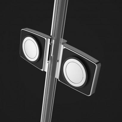 Душевая дверь Radaway Fuenta New DWJ 110 левая , профиль хром , стекло прозрачное 3