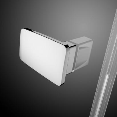 Душевая дверь Radaway Fuenta New DWJ 110 левая , профиль хром , стекло прозрачное 6