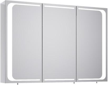 Зеркальный шкаф Aqwella Milan Mil.04.10, с подсветкой 100 см.
