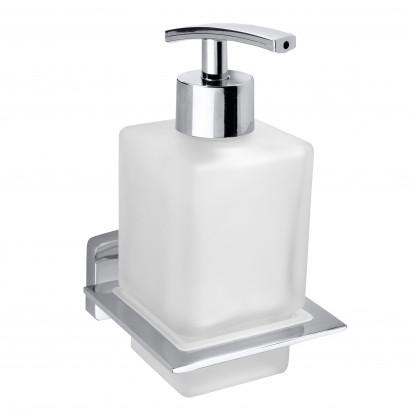 Дозатор жидкого мыла Bemeta Niki 153209049 7.7 x 10 x 15 см настенный, хром