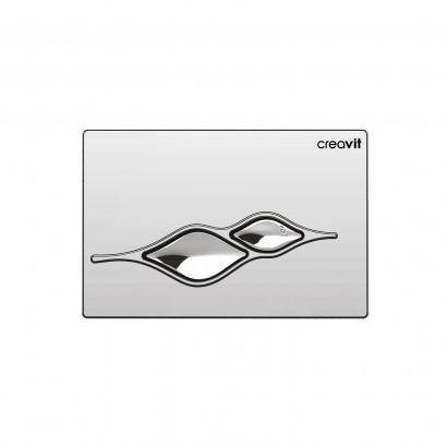 Клавиша смыва для инсталляции Creavit UFO GP1004.00 хром глянец