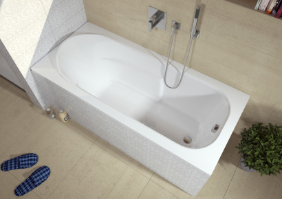 Прямоугольная ванна Riho Columbia 150x75 без гидромассажа BA0200500000000 3