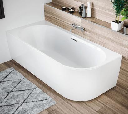 Асимметричная ванна Riho Desire R 184x84 без гидромассажа BD0500500000000