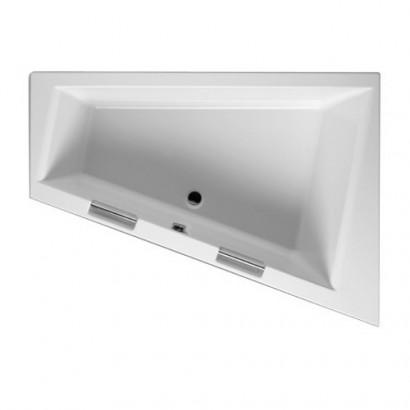 Асимметричная акриловая ванна Riho Doppio 180x130 левая , без гидромассажа BA9100500000000 5