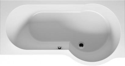 Асимметричная ванна Riho Dorado 170x75/90 L без гидромассажа BA8100500000000 11