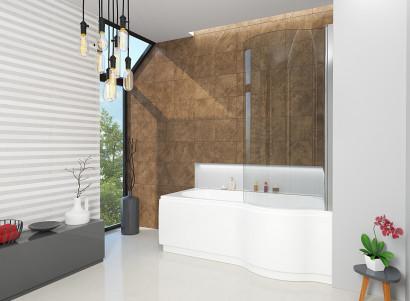 Асимметричная ванна Riho Dorado 170x75/90 L без гидромассажа BA8100500000000 3
