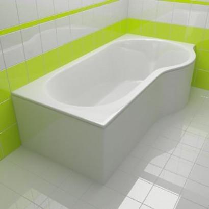 Асимметричная ванна Riho Dorado 170x75/90 L без гидромассажа BA8100500000000 5