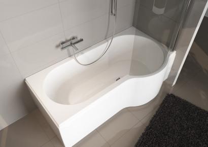Асимметричная ванна Riho Dorado 170x75/90 L без гидромассажа BA8100500000000 6