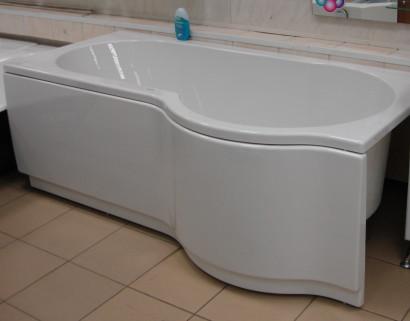 Асимметричная ванна Riho Dorado 170x75/90 L без гидромассажа BA8100500000000 9
