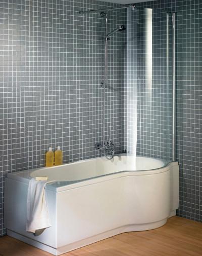 Асимметричная ванна Riho Dorado 170x75/90 L без гидромассажа BA8100500000000 10