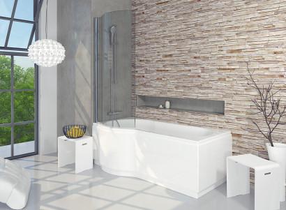 Асимметричная ванна Riho Dorado 170x75/90 R без гидромассажа BA8000500000000 2