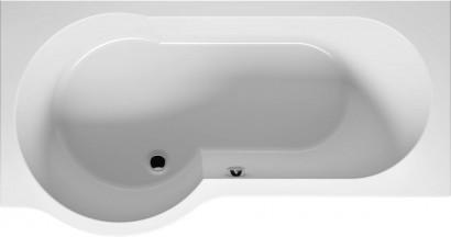 Асимметричная ванна Riho Dorado 170x75/90 R без гидромассажа BA8000500000000 10