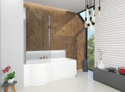 Асимметричная ванна Riho Dorado 170x75/90 R без гидромассажа BA8000500000000 3