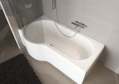 Асимметричная ванна Riho Dorado 170x75/90 R без гидромассажа BA8000500000000 6