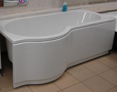 Асимметричная ванна Riho Dorado 170x75/90 R без гидромассажа BA8000500000000 8
