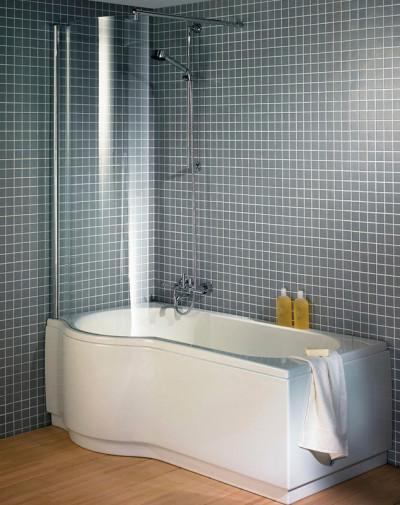 Асимметричная ванна Riho Dorado 170x75/90 R без гидромассажа BA8000500000000 9