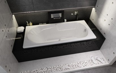 Прямоугольная ванна Riho Future XL 190x90 без гидромассажа BC3200500000000