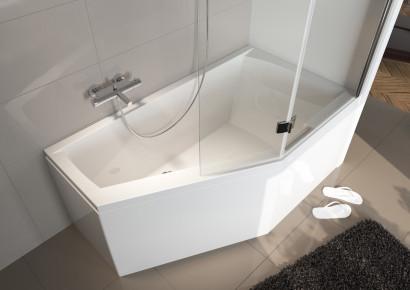 Асимметричная ванна Riho Geta 160x90 L левая без гидромассажа BA8700500000000 3