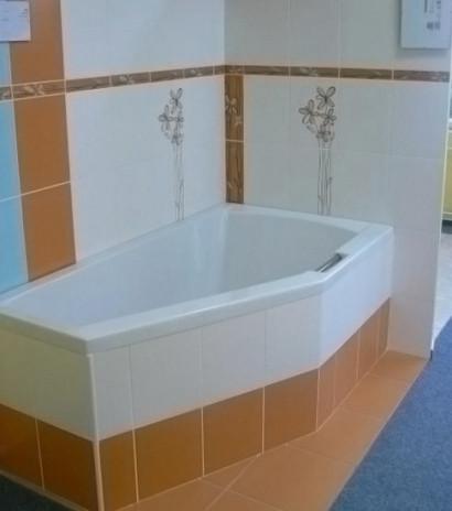 Асимметричная ванна Riho Geta 160x90 L левая без гидромассажа BA8700500000000 5
