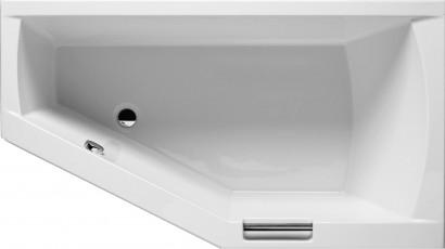 Асимметричная ванна Riho Geta 160x90 L левая без гидромассажа BA8700500000000 6