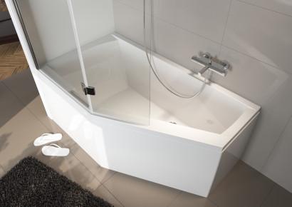 Асимметричная ванна Riho Geta 160x90 R правая без гидромассажа BA8600500000000 2