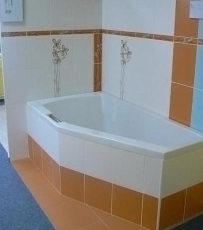 Асимметричная ванна Riho Geta 160x90 R правая без гидромассажа BA8600500000000 4
