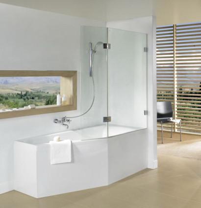 Асимметричная ванна Riho Geta 170x90 L левая без гидромассажа BA8900500000000 4