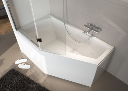Асимметричная ванна Riho Geta 170x90 R правая без гидромассажа BA8800500000000 2