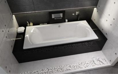 Прямоугольная ванна Riho Lima 160x70 R без гидромассажа BB4200500000000