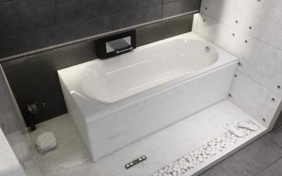 Прямоугольная ванна Riho Miami 160x70 без гидромассажа BB6000500000000 2