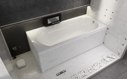 Прямоугольная ванна Riho Miami 180x80 без гидромассажа BB6400500000000 2