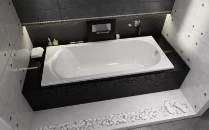 Прямоугольная ванна Riho Miami 180x80 без гидромассажа BB6400500000000 3