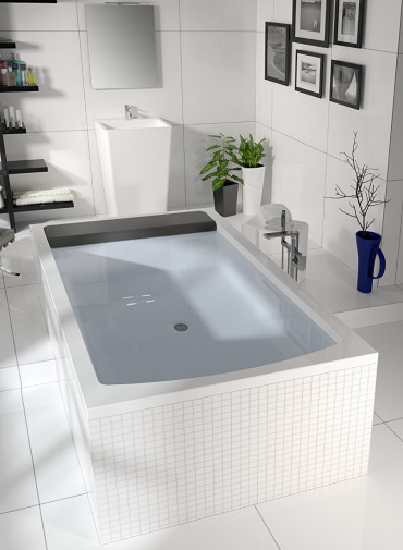 Прямоугольная ванна Riho Savona 190x130 без гидромассажа BB7900500000000