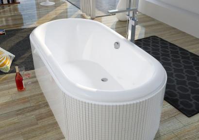 Овальная ванна Riho Seth 180x86 без гидромассажа BB2200500000000 2